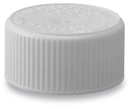28mm CRC Wadded Cap White