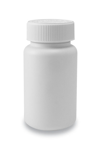 125-38 CRC Tablet Bottle White + 38mm CRC Cap White