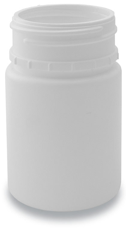 60-40 TE Tablet Bottle White