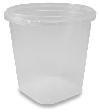 750-112 TE Container Clear