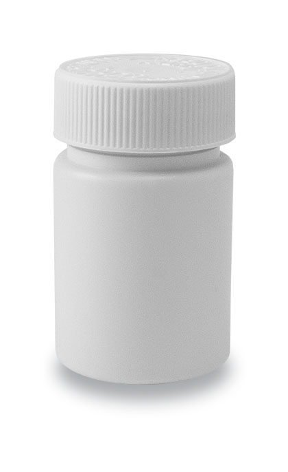 60-38 CRC Tablet Bottle White + 38mm CRC Cap White