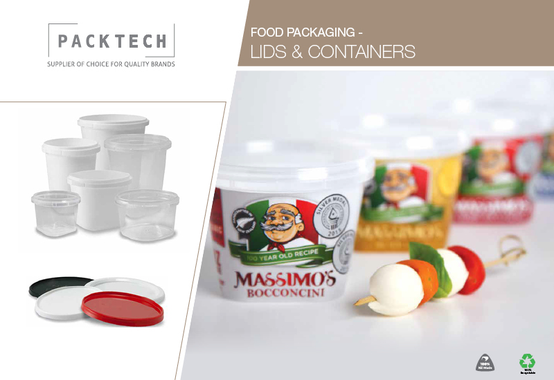 Food packaging brochure